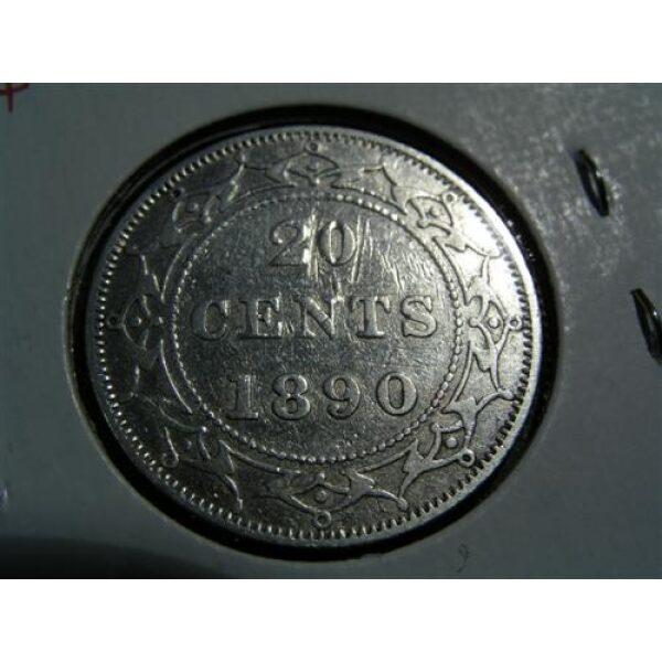 Newfoundland 20 cents coins