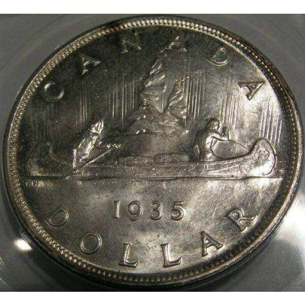 1 Dollar Canadian Coins