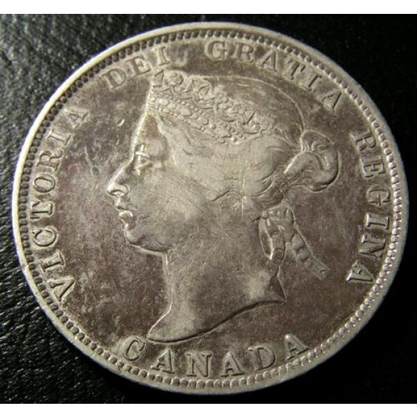 25 Cents Canadian Coins